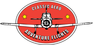 Classic Aero Adventure Flights logo transparent web