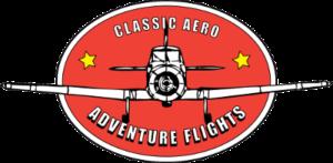 Classic Aero Adventure Flights logo transparent web