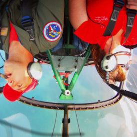 Aerobatic Adventure Flights available over the Byron Bay region with Classic Aero Adventure Flights
