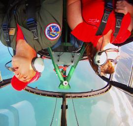 Aerobatic Adventure Flight at www.classicaero.com.au
