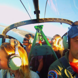 Low level Coastal Reconnaissance Flights offered through Classic Aero Adventure Flights