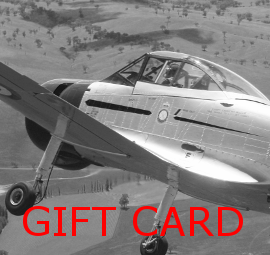 Classic Aero Adventure Flights gift card