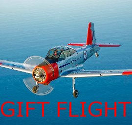 Gift flight cards available for purchase at www.classicaero.com.au