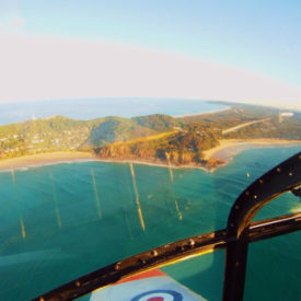 Experience a thrilling Regional Reconnaissance Flight over Byron Bay