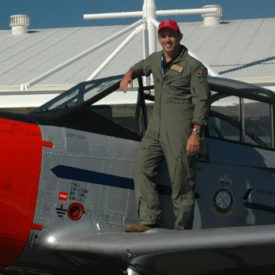 Classic Aero Adventure Flights' pilot, Mark Awad
